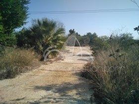 Terreno, Segunda línea de playa