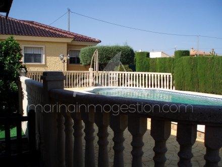 Chalet independiente, Situado en Orihuela Alicante 14