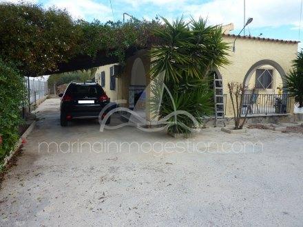 Chalet independiente, Situado en San Fulgencio Alicante 25